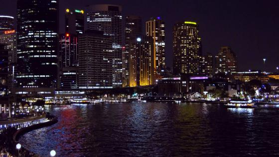 Night Sydney wallpaper