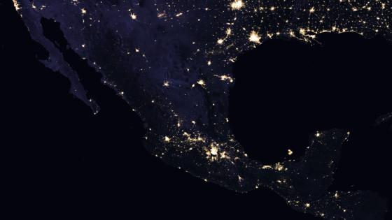 Night Lights of Mexico 2016 wallpaper