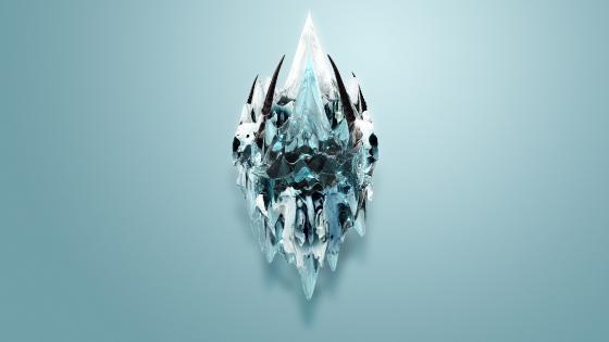 Melting Ice wallpaper