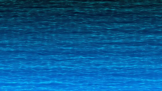 Blue water surface wallpaper