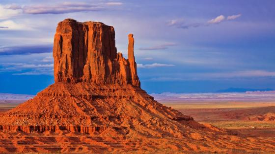 West Mitten Butte, Monument Valley wallpaper