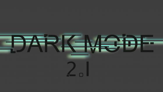 DARK MODE 2.1 wallpaper