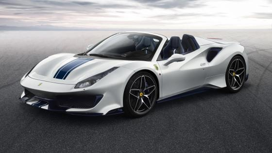 Ferrari 488 Pista Spider wallpaper