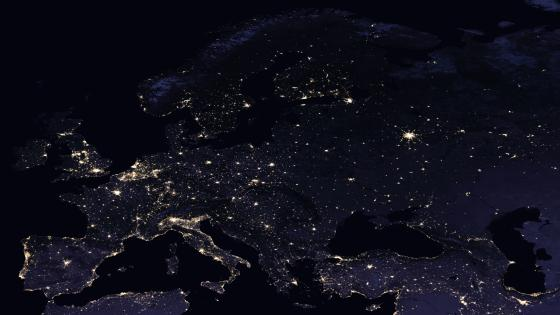 Night Lights of Europe 2016 wallpaper