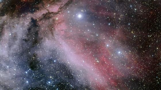 The Carina Nebula & the Wolf–Rayet Star WR 22 wallpaper