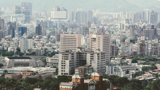 Taipei Tower Blocks wallpaper