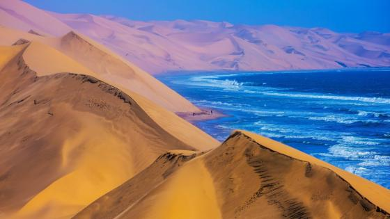 Namibia landscape wallpaper