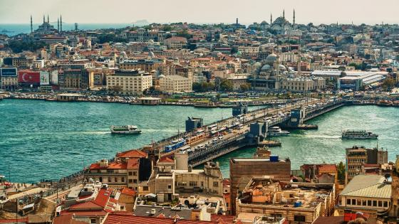 Galata Bridge, Istanbul wallpaper