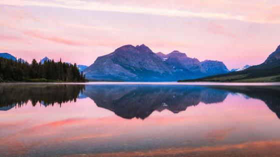 Saint Mary Lake, Glacier National Park wallpaper