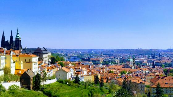 Prague old city wallpaper