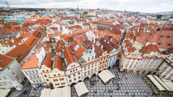 Old Town, Prague wallpaper