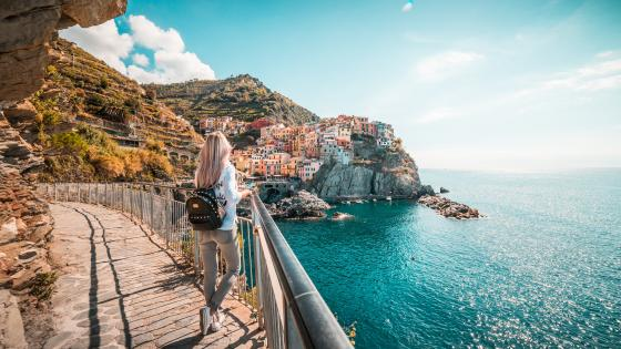 Manarola vacation wallpaper