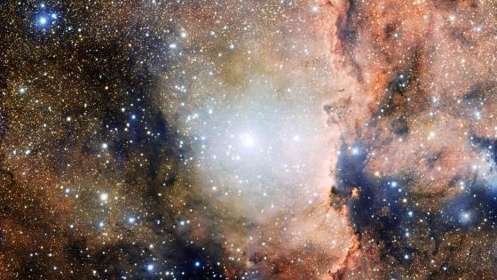 NGC 6193 Star Cluster & NGC 6188 Nebula wallpaper