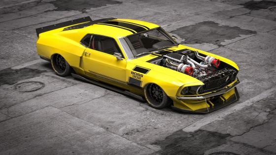 Ford Boss 302 Mustang wallpaper