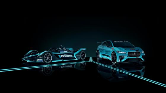 Jaguar I-Pace eTrophy Prototype wallpaper