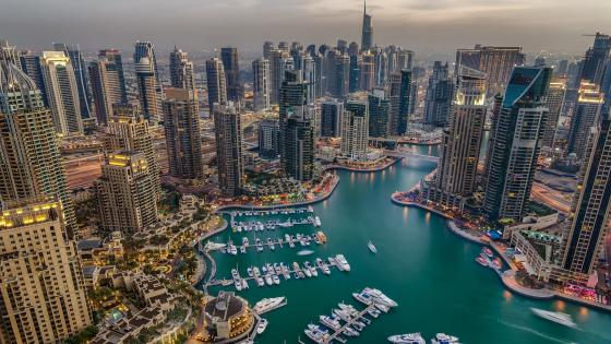 Dubai Marina wallpaper