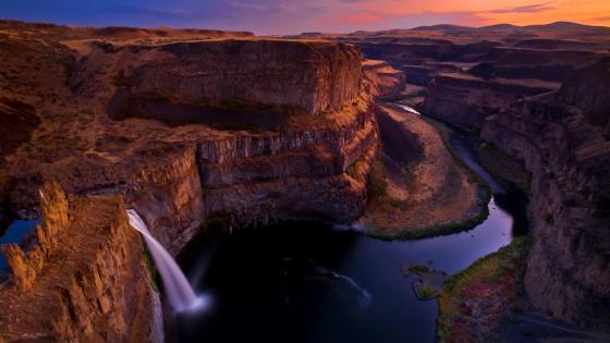 Palouse Falls wallpaper
