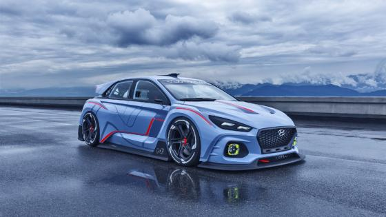 Hyundai RN30 concept car wallpaper