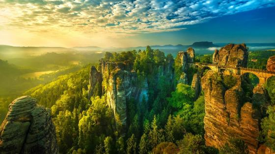 Saxon Switzerland wallpaper