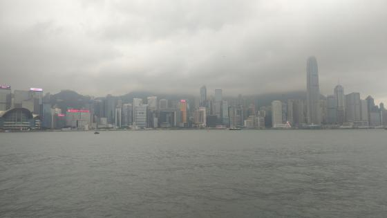 hongkong skyline wallpaper