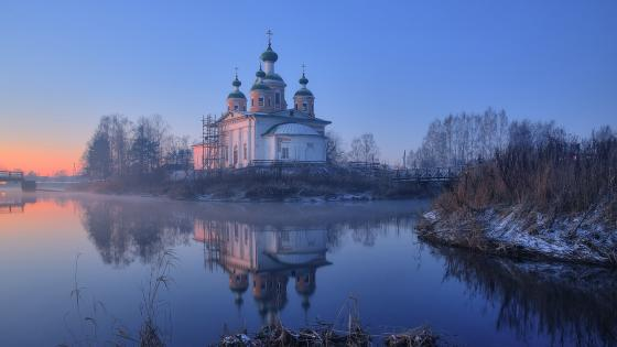 Cathedral Of Our Lady Of Smolensk, Olonets, Russia wallpaper