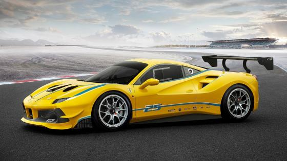 Ferrari 488 Challenge wallpaper