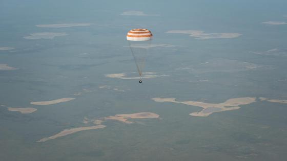 Expedition 39 Soyuz TMA-11M Landing wallpaper