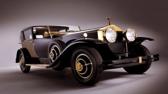 Rolls-Royce Vintage Car wallpaper