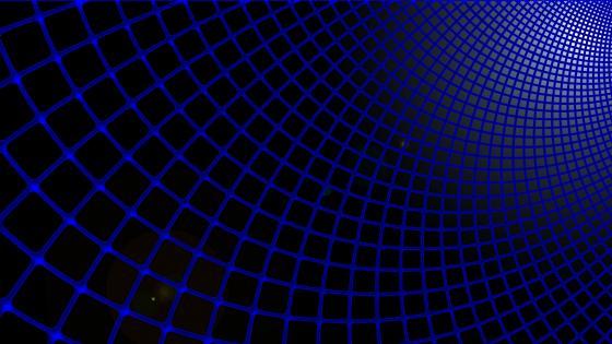 Blue grid wallpaper