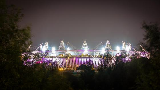 Olympic Stadium in London wallpaper