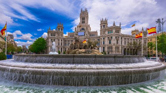 Plaza de Cibeles wallpaper