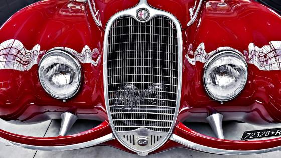 Alfa Romeo Classic Car Grid wallpaper