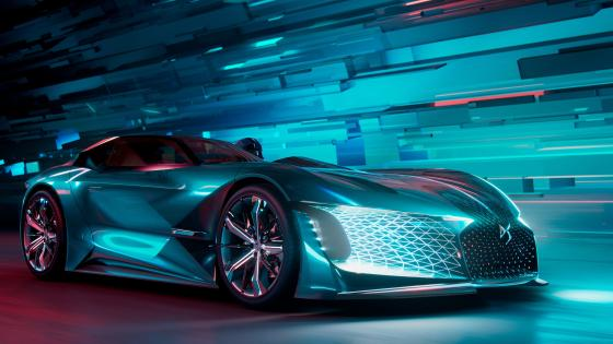 DS X E-Tense Concept Car wallpaper