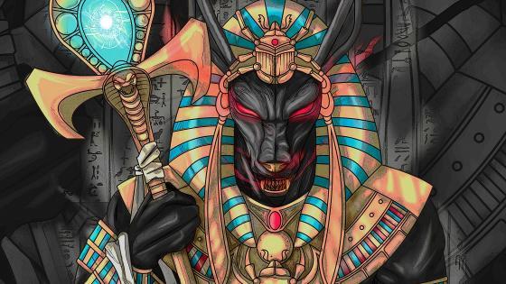Anubis wallpaper