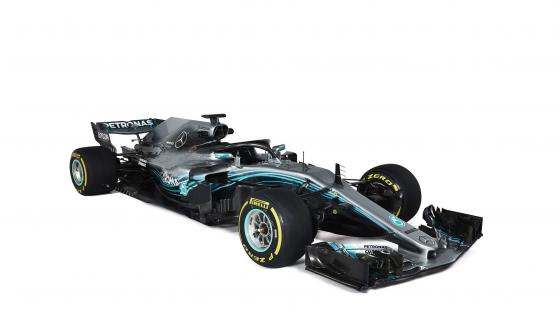 2018 Mercedes AMG W09 EQ Power+ wallpaper