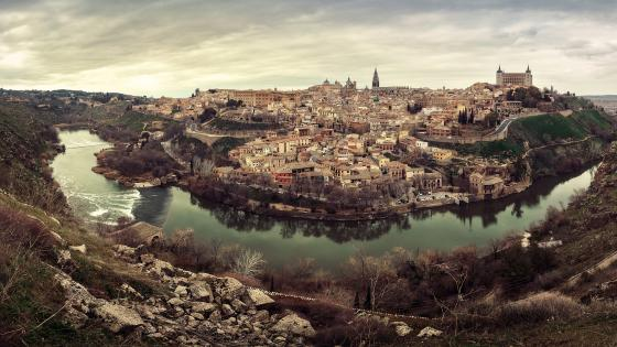Tajo River, Toledo wallpaper