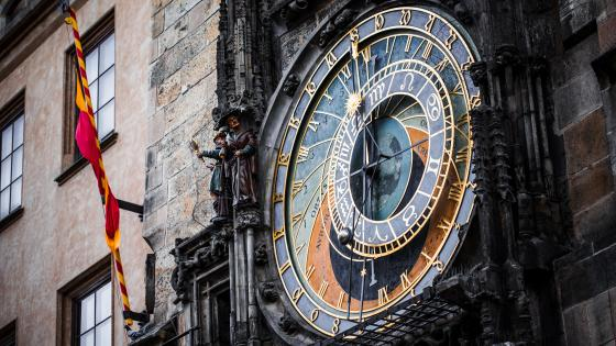 Prague Astronomical Clock wallpaper