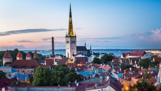 Old Town of Tallinn wallpaper