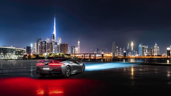 2019 Pininfarina Battista in Dubai wallpaper