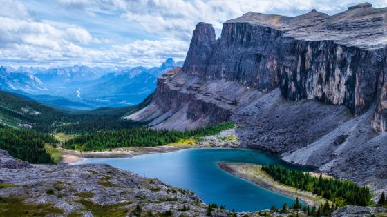 Rockbound Lake (Banff National Park) wallpaper