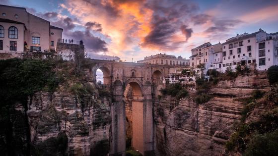 Puente Nuevo (Ronda, Spain) wallpaper