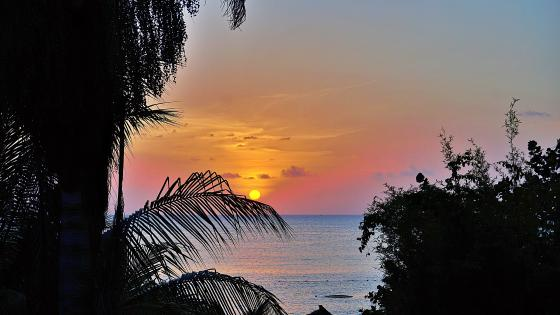 Sunset in Jamaica wallpaper