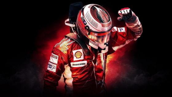 Formula One Ferrari Driver wallpaper
