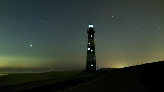 Breskens Lighthouse (Netherlands) wallpaper