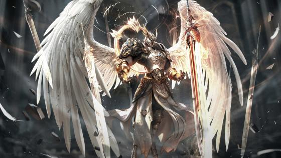 Angel Warrior wallpaper