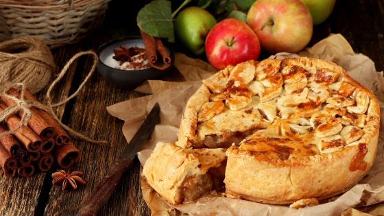 Apple pie wallpaper