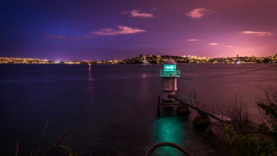 Bradleys Head Light (Sydney) wallpaper