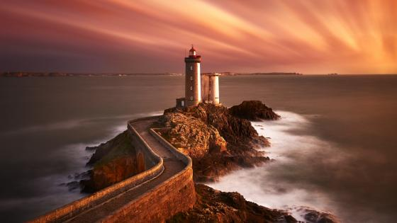 Petit Minou Lighthouse, France wallpaper