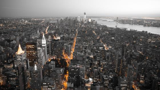 New York skyline wallpaper