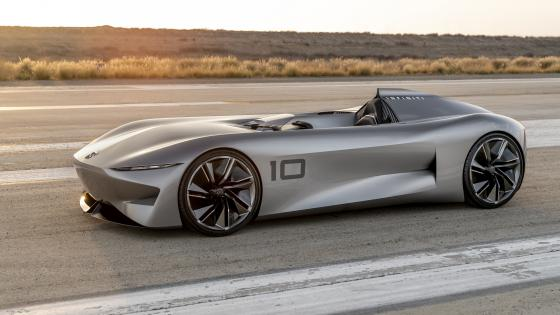 Infiniti Prototype 10 Electric car wallpaper